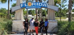 JDI Cleaning Systems Franchise Owner Wendy of Milton with her family at Disneyworld